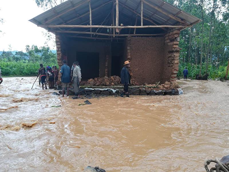 Powódź w Rwandzie