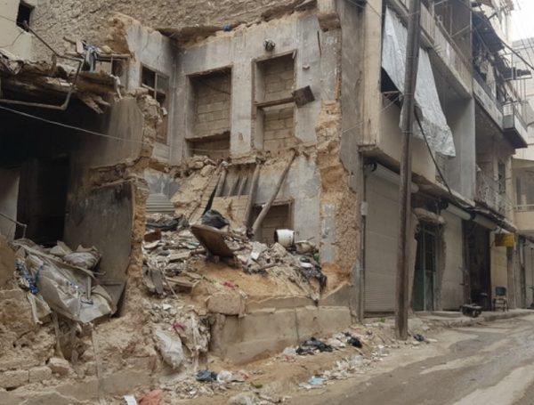Pomoc Syrii pomoc niepełnosprawnym Aleppo Ruch Maitri 01