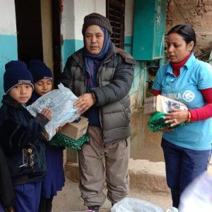Koronawirus w nepalu 01 Ruch Maitri Adopcja Serca dożywianie