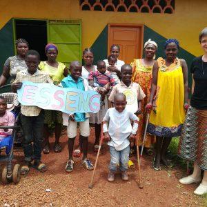 dożywianie w Esseng 01 pomoc Afryce Ruch Maitri Adopcja Serca