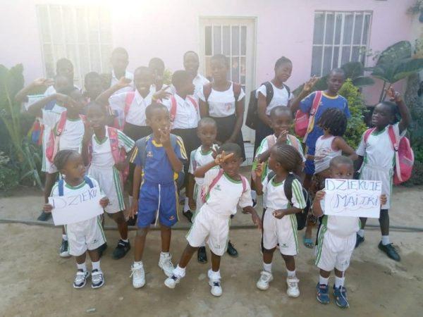 Pomoc dla sierot z Centrum AFEOA Lubumbashi Ruch Maitri Adopcja Serca 01