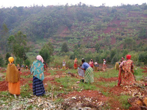 Kanoniczki proszą o pomoc na pole dla podopiecznej programu Adopcja Serca Burundi Ruch Maitri 01