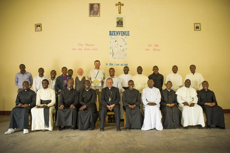 Bertoua , Kamerun klerycy diecezji Doume - Abong Mbang