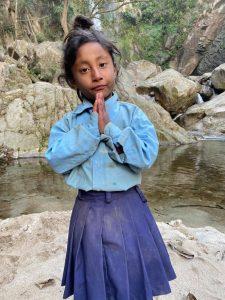 Dziewczynka z Nepalu