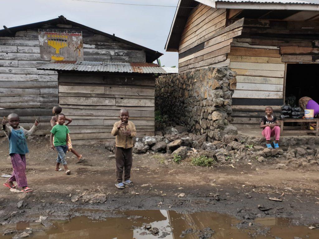 Dzieci w Goma w DR Konga
