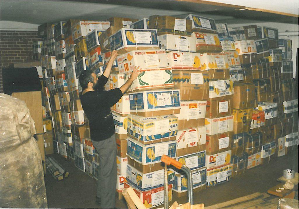 Przygotowanie paczek do wysyłki