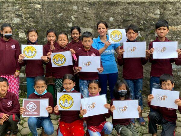 Pakiety żywnościowe dla Nepalu Ruch Maitri Adopcja Serca 02